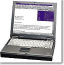 Freedom 2000 Toughbook, with EZ Keys for communication