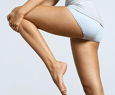 smooth legs - no dry skin here!