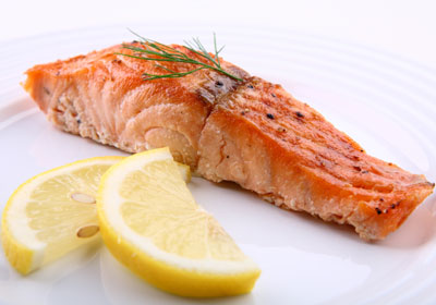 salmon - one of the many amazing healthy fat foods